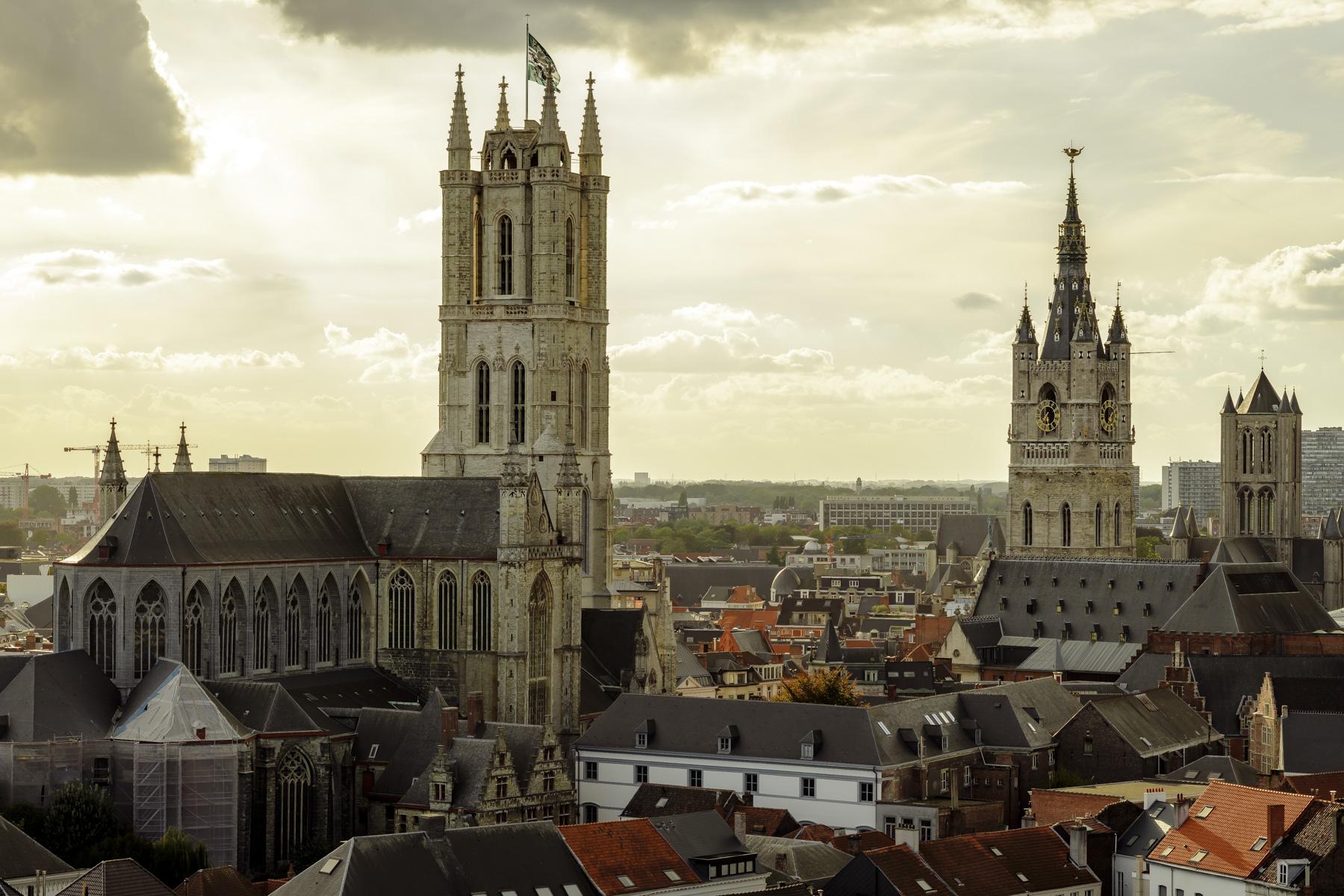 De torens van Gent